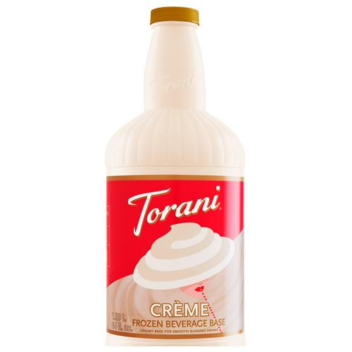 Torani Creme Frozen Beverage Base (64oz)-Liquid Base & Purees-torani-Carry Out Supplies
