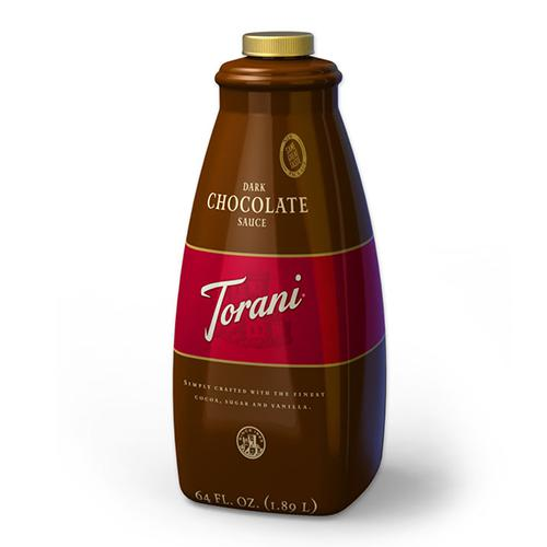 Torani Dark Chocolate Sauce (64oz)-Sauces-torani-Carry Out Supplies