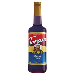 Torani Grape Syrup - 750 ml Bottle-Syrups-torani-Carry Out Supplies