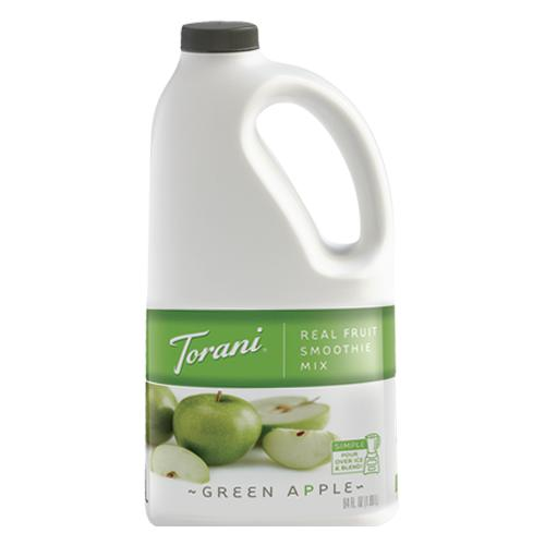 Torani Green Apple Real Fruit Smoothie Mix (64oz)-Liquid Base & Purees-torani-Carry Out Supplies