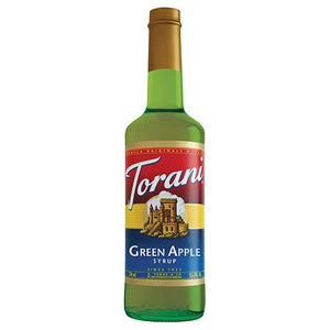 Torani Green Apple Syrup - 750 ml Bottle-Syrups-torani-Carry Out Supplies