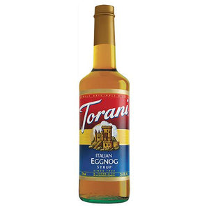 Torani Italian Eggnog Syrup - 750 ml Bottle-Syrups-torani-Carry Out Supplies