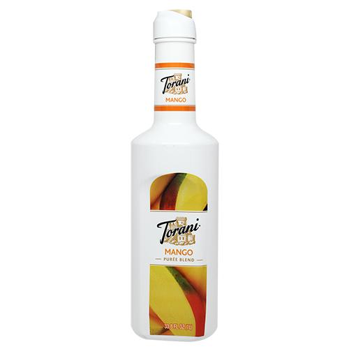 Torani Mango Pure Blend (1L)-Liquid Base & Purees-torani-Carry Out Supplies