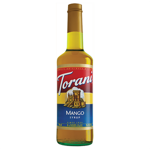Torani Mango Syrup - 750 ml Bottle-Restaurant Supply Drop