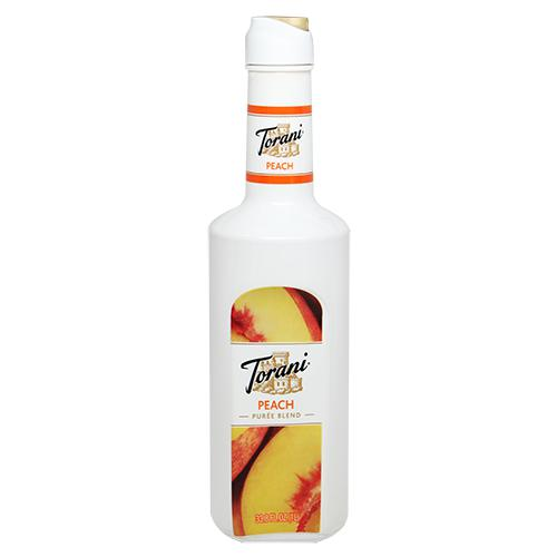 Torani Peach Pure Blend (1L)-Liquid Base & Purees-torani-Carry Out Supplies