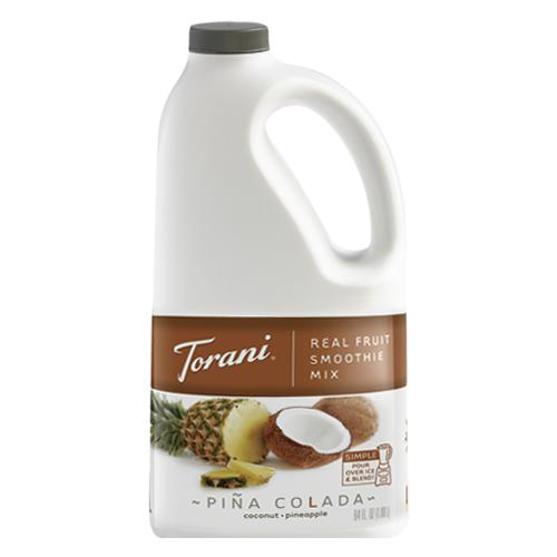 Torani Pina Colada Real Fruit Smoothie Mix (64oz)-Liquid Base & Purees-torani-Carry Out Supplies