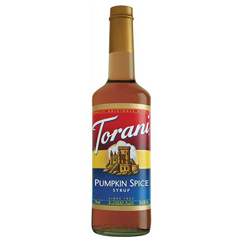 Torani Pumpkin Spice Syrup - 750 ml Bottle-Syrups-torani-Carry Out Supplies