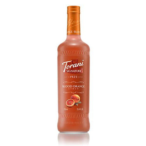 Torani Signature Blood Orange Syrup - 750 ml Bottle-Syrups-torani-Carry Out Supplies