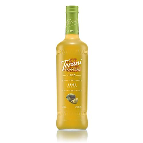 Torani Signature Lime Syrup - 750 ml Bottle-Syrups-torani-Carry Out Supplies