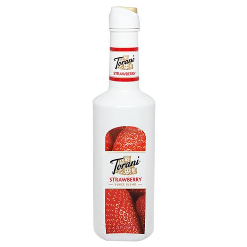 Torani Strawberry Puree Blend (1L)-Liquid Base & Purees-torani-Carry Out Supplies