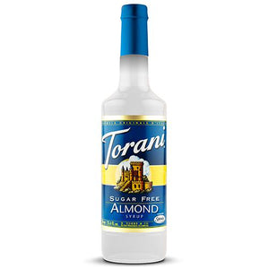 Torani Sugar Free Almond Syrup - 750 ml Bottle-Syrups-torani-Carry Out Supplies