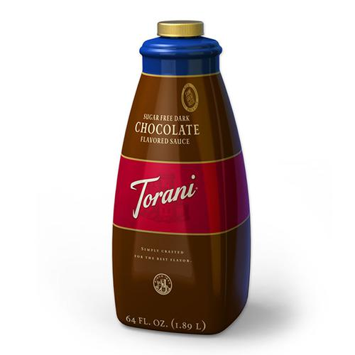 Torani Sugar Free Chocolate Sauce (64oz)-Sauces-torani-Carry Out Supplies