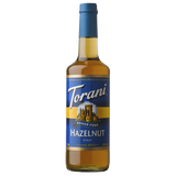 Torani Sugar Free Hazelnut Syrup - 750 ml Bottle-Restaurant Supply Drop