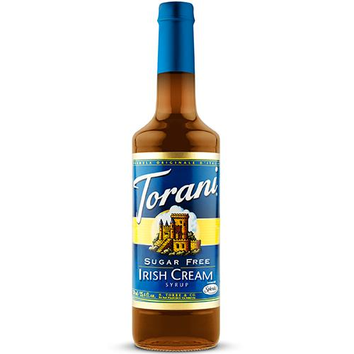 Torani Sugar Free Irish Cream Syrup - 750 ml Bottle-Syrups-torani-Carry Out Supplies