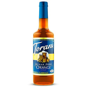 Torani Sugar Free Orange Syrup - 750 ml Bottle-Syrups-torani-Carry Out Supplies
