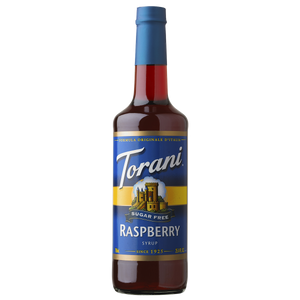 Torani Sugar Free Raspberry Syrup - 750 ml Bottle-Restaurant Supply Drop