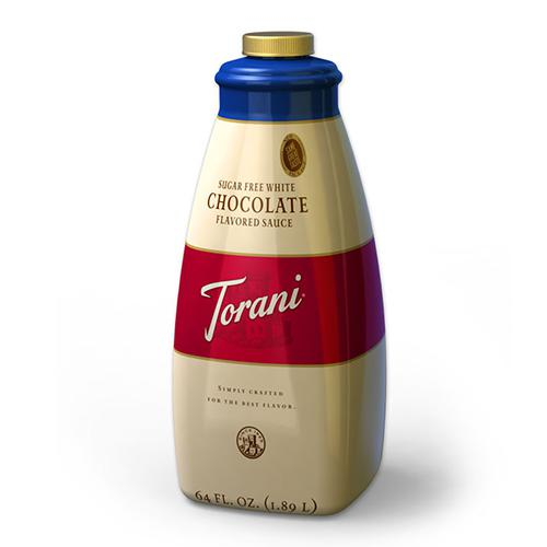 Torani Sugar Free White Chocolate Sauce (64oz)-Sauces-torani-Carry Out Supplies