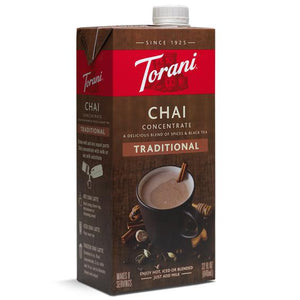 Torani Traditional Chai Concentrate (32oz)-Liquid Base & Purees-torani-Carry Out Supplies