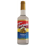 Torani Vanilla Syrup - 750 ml Bottle-Restaurant Supply Drop