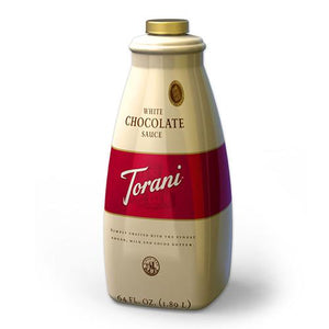 Torani White Chocolate Sauce (64oz)-Sauces-torani-Carry Out Supplies