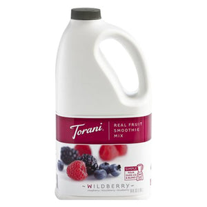 Torani Wildberry Real Fruit Smoothie Mix (64oz)-Liquid Base & Purees-torani-Carry Out Supplies