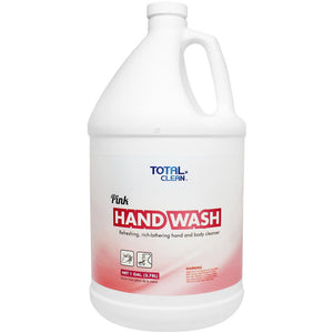 Total Clean Pink Hand Wash (1 gal) - 4 ct-Cleaners-Total Clean-Carry Out Supplies