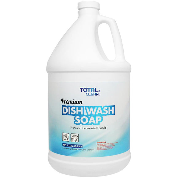 Total Clean Premium Dish Wash Soap (1 gal) - 4 ct-Cleaners-Total Clean-Carry Out Supplies
