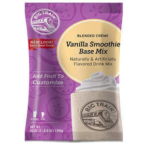 Vanilla Smoothie - Big Train Mix - Bag 3.5 pounds-Powdered Base-Big Train-Carry Out Supplies