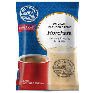 VIVAZ Horchata Mexican Inspired Drink - Big Train Mix - Bag 3.5 pounds-Powdered Base-Big Train-Carry Out Supplies