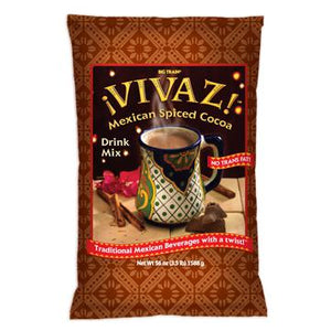 VIVAZ Mexican Spiced Cocoa Drink - Big Train Mix - Bag 3.5 pounds-Powdered Base-Big Train-Carry Out Supplies