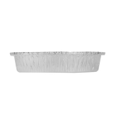 "Large Aluminum Foil Containers - 9"" Round - Karat - 500 Count-Restaurant Supply Drop"