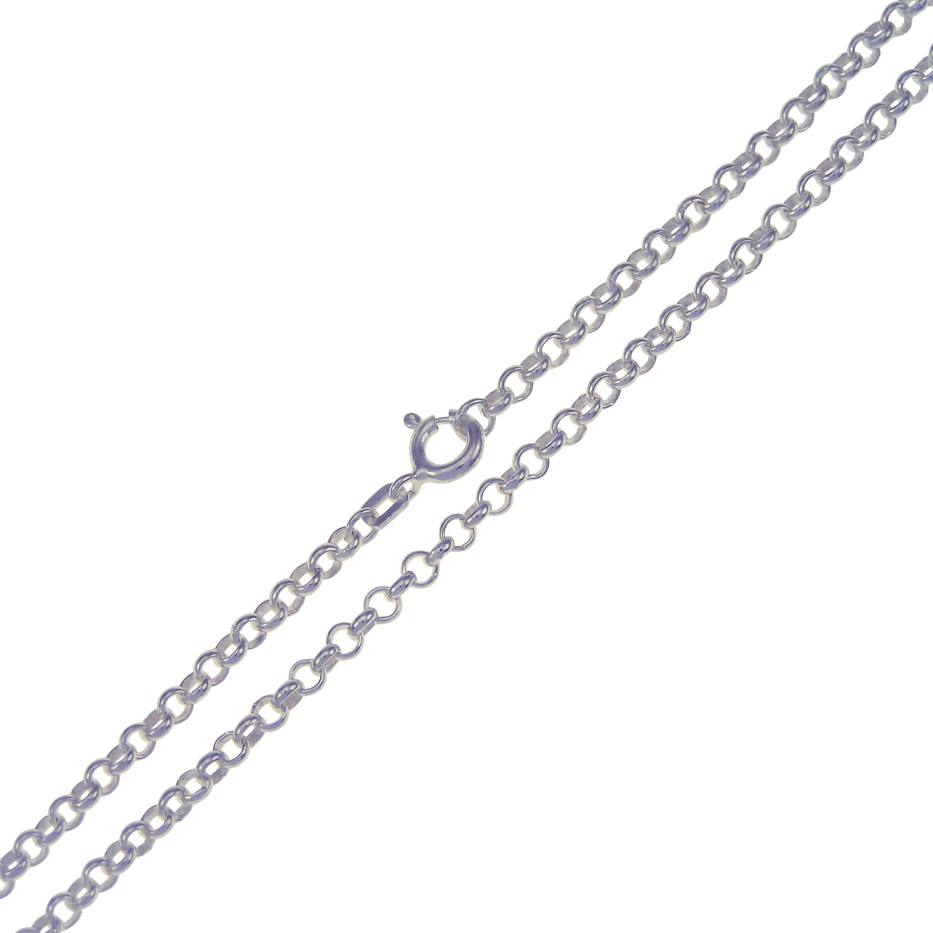 Sterling Silver Belcher Chain 3mm 80cm/32""