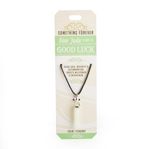 New Jade Point Pendant