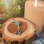 Health Aventurine Pet Charm With Paw