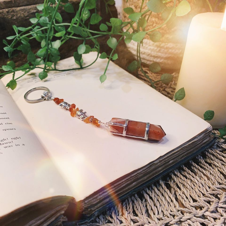 Carnelian Point Key Ring