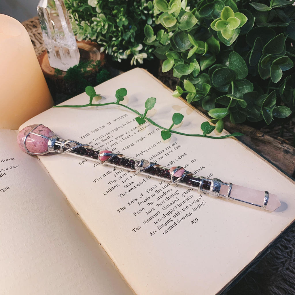 Passion Crystal Wand