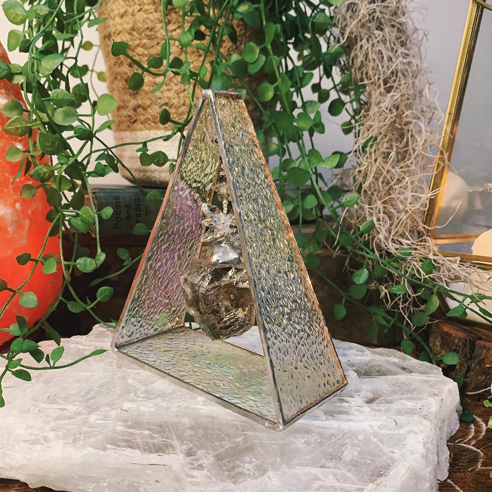 Grounding Stone Smokey Quartz Triangle