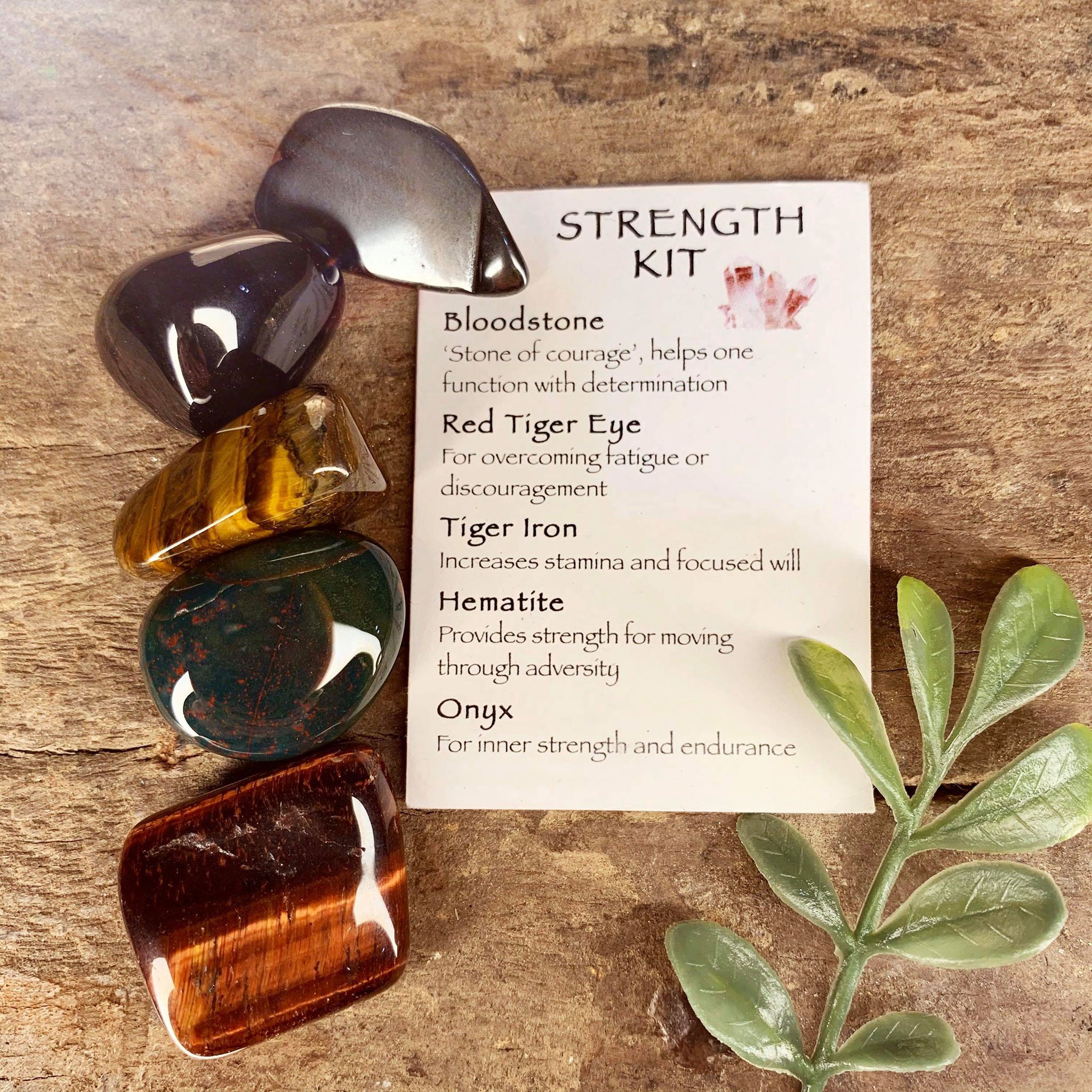 Strength Crystal Kit