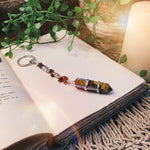 Tiger Eye Point Key Ring