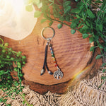 Chakra Balance Key Ring With Tree Of Life Charm