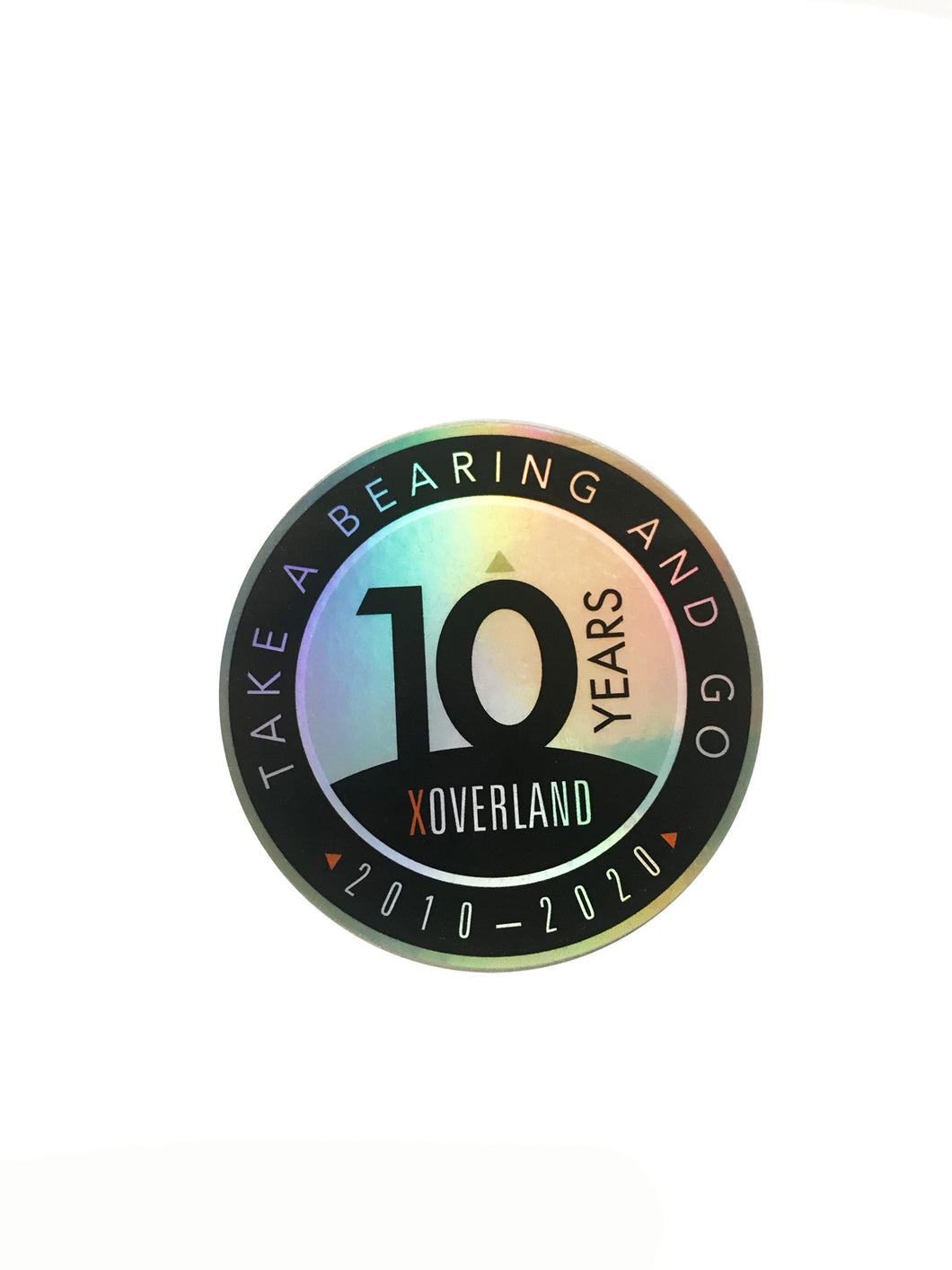 X Overland™ 10 Year Holographic Decal