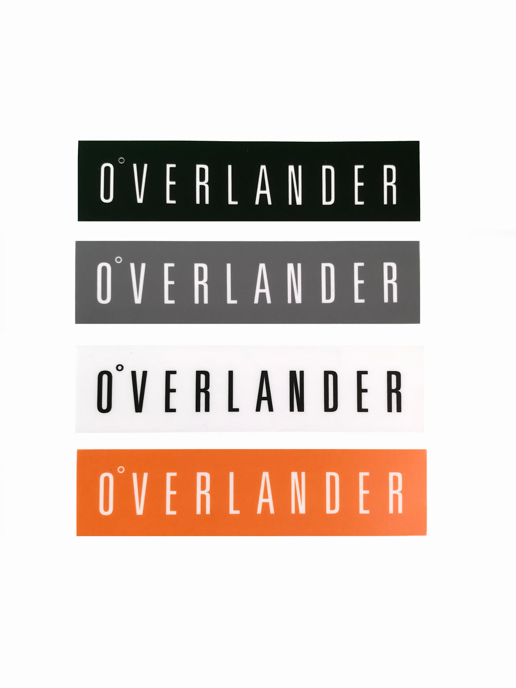 Overlander™ Logo Sticker Set