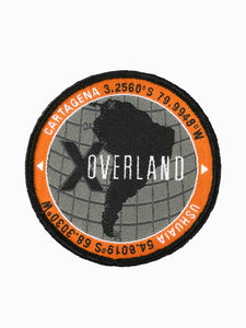 X Overland™ South America Patch