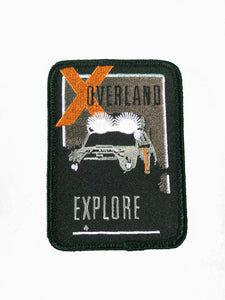X Overland™ Explore Patch