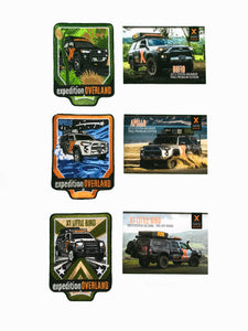X Overland™ Vehicle Patch + Trading Card