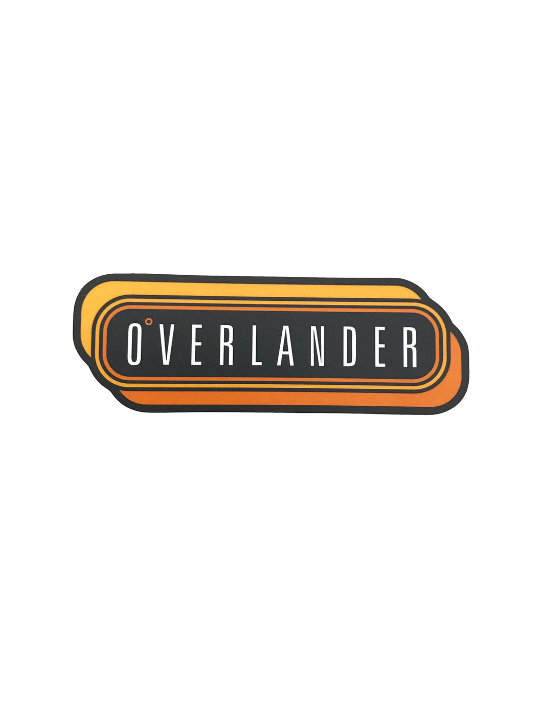Overlander™ Retro Decal