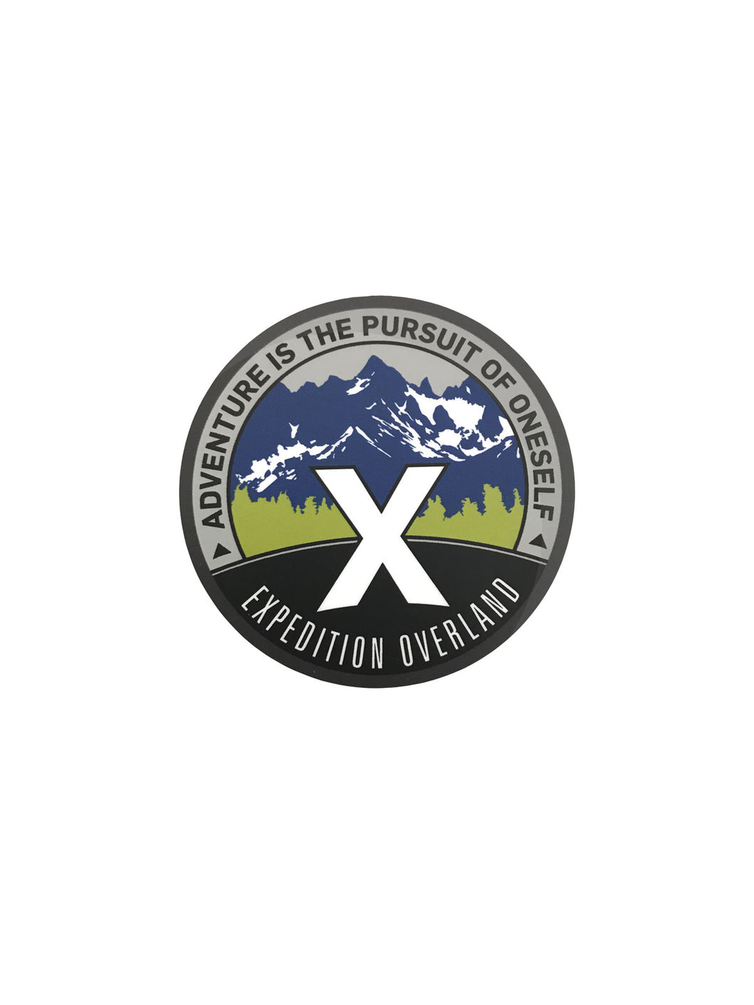 X Overland™ Pursuit Decal