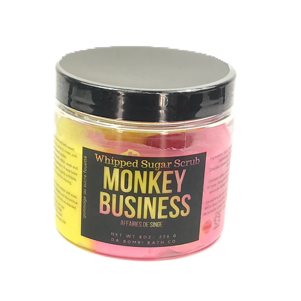Monkey Business Whipped Sugar Scrub