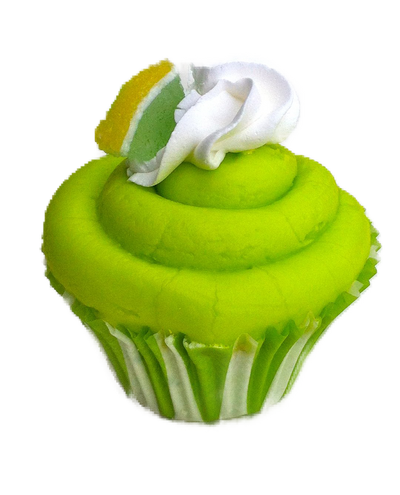 Key Lime Pie Cupcake Bath Bomb