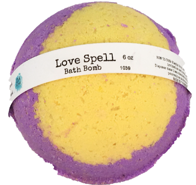 Love Spell 6oz Bath Bomb